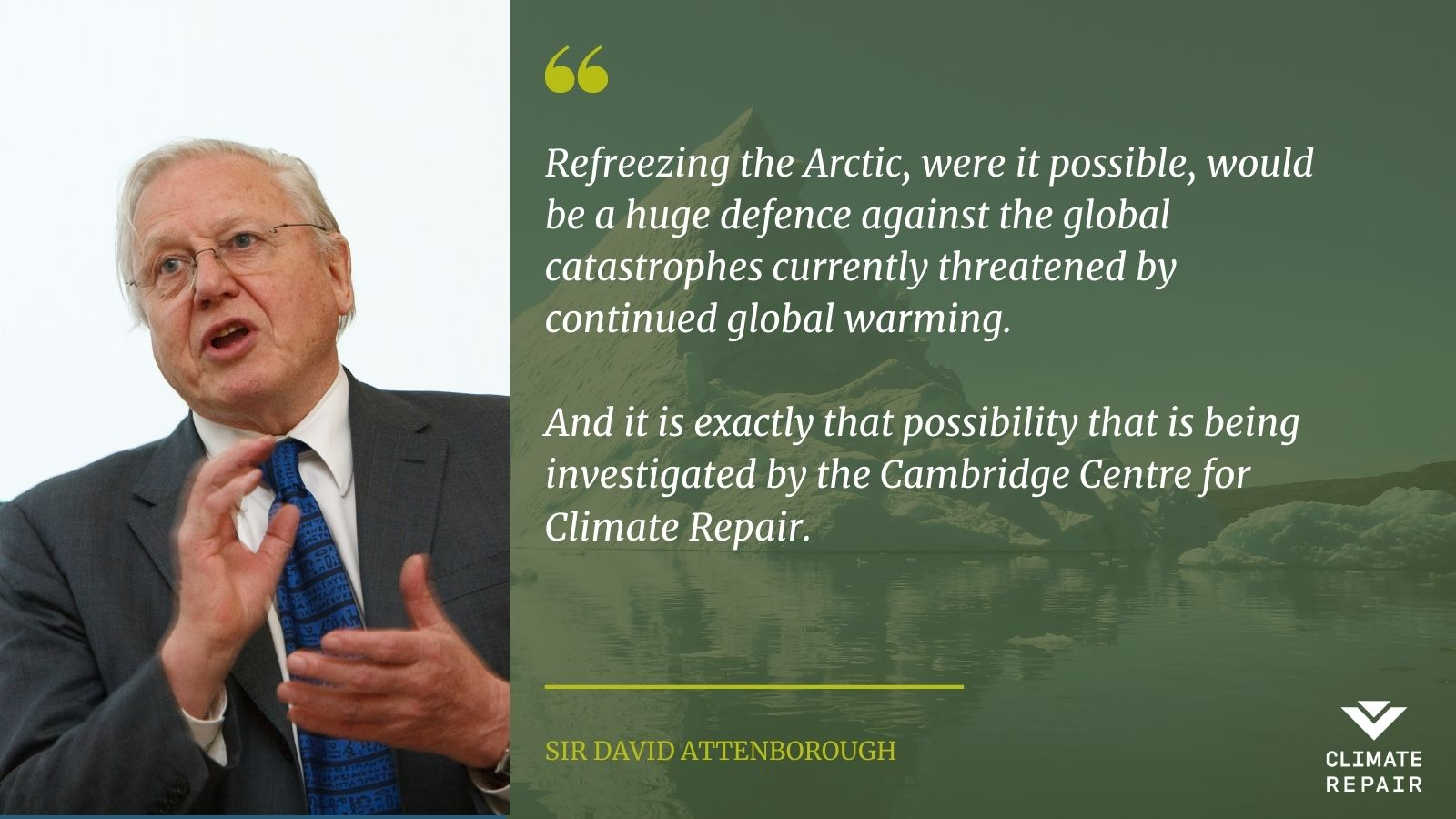 Sir David Attenbourgh quote